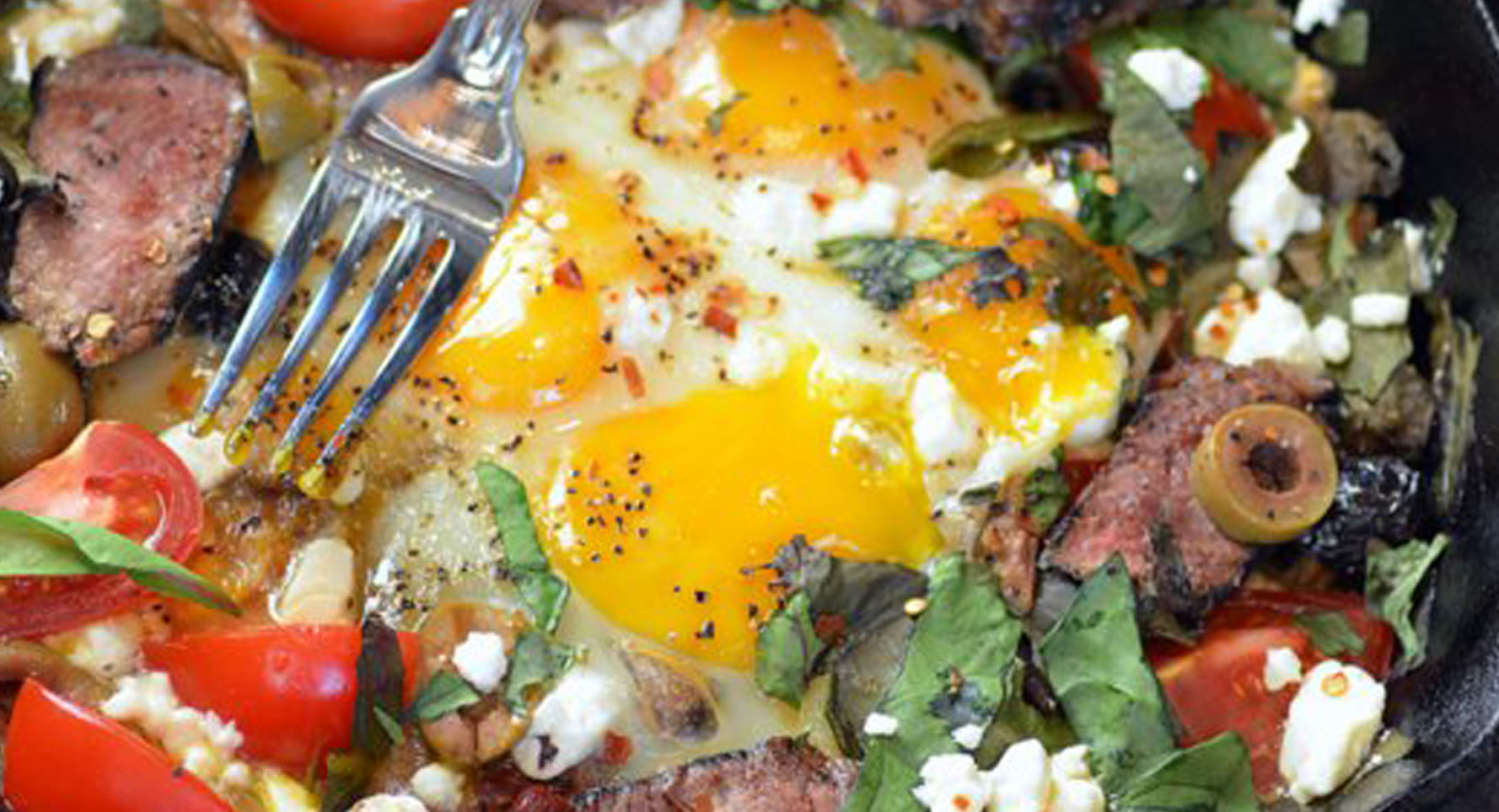 Photograph of Meat and Eggs from Ally's Kitchen